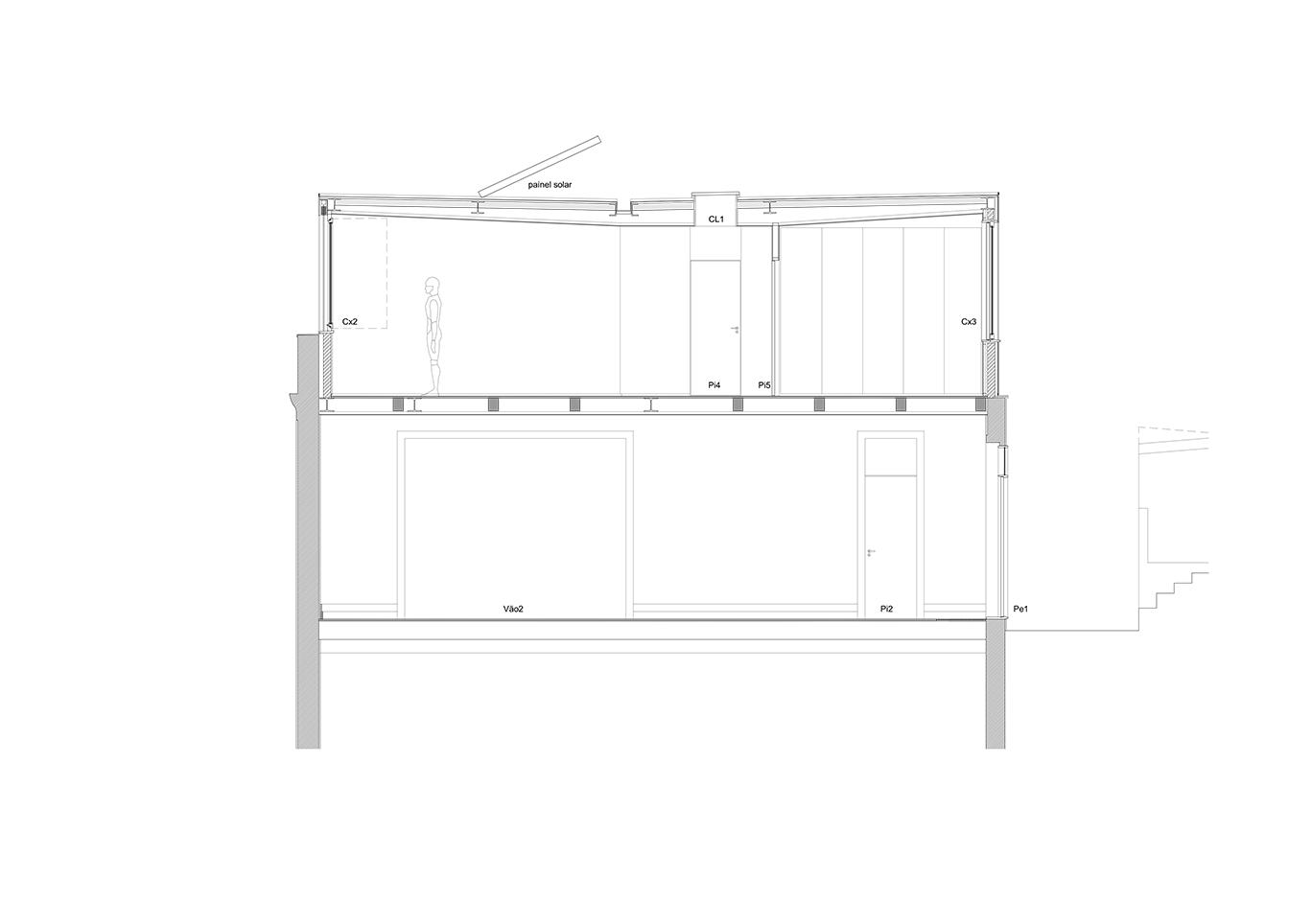Corte 2 — Esc. 1/150